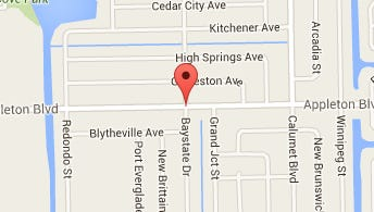 The FHP is reporting a fatal crash in Port Charlotte at Appleton Boulevard and Bay State Drive.