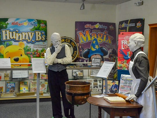 The Regional History Museum Battle Creek's cereal exhibit