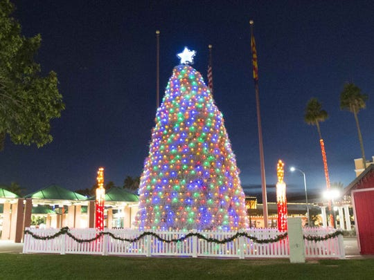 More than 12,000 people are expected to gather in downtown Chandler for the annual lighting of the Tumbleweed Tree.
