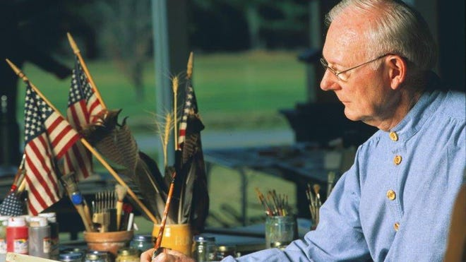 Vermont artist Warren Kimble begins a series of talks Wednesday at the Sheldon Museum.