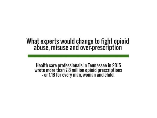 What experts would change to fight opioid abuse, misuse