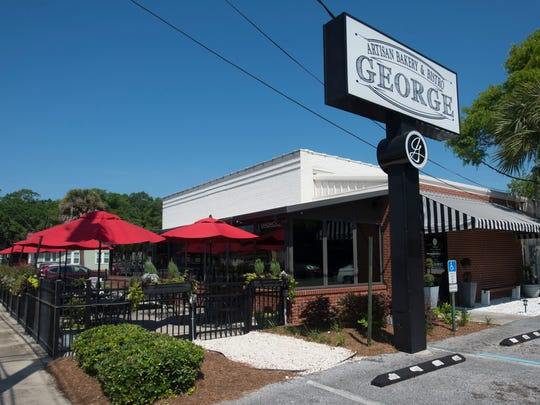 George Artisan Bakery and Bistro is on Garden Street