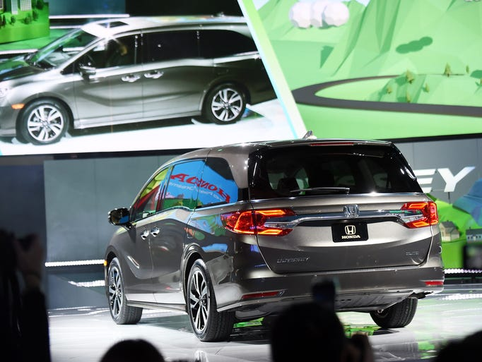 2018 honda odyssey to debut at 2017 detroit auto show for Detroit auto show honda odyssey