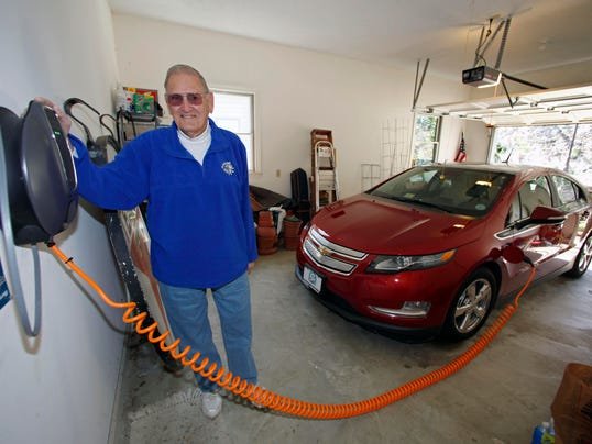chevy volt owners do 63 of miles on electricity. Black Bedroom Furniture Sets. Home Design Ideas
