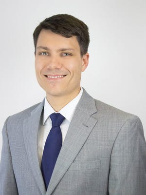 Stephen Andrews won the Tallahassee Network of Young Professionals' Golden A.C.E. Award in the Finance Category.