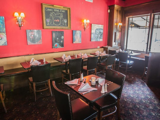 Corner Wine Bar, 6331 Guilford Ave., Corner Wine  Bar in Broad Ripple includes an intimate dining room. Open since 1982, the bar will be sold, remodeled and renamed in March 2018.