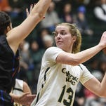 CSU's Ellen Nystrom, shown in a game last season, led the Rams with 17 points in a double-overtime win at Navy on Saturday.