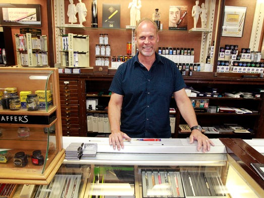 Daly's Pen Shop owner Brad Bodart will continue to