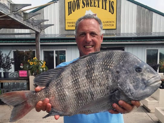 Dave Alveberg of Deal Island caught this  Maryland