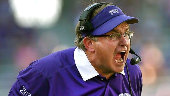 TCU coach Gary Pattersron