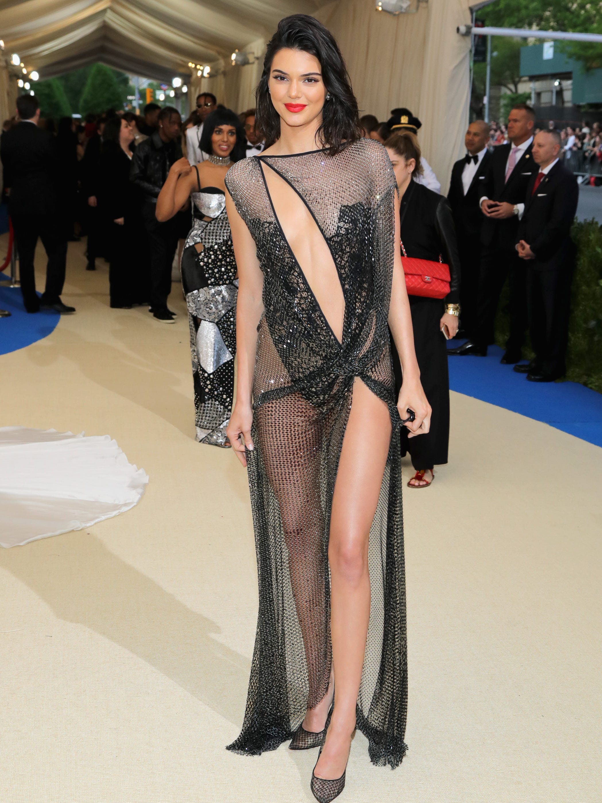 The time Kendall Jenner wore a visible thong to the Met Gala