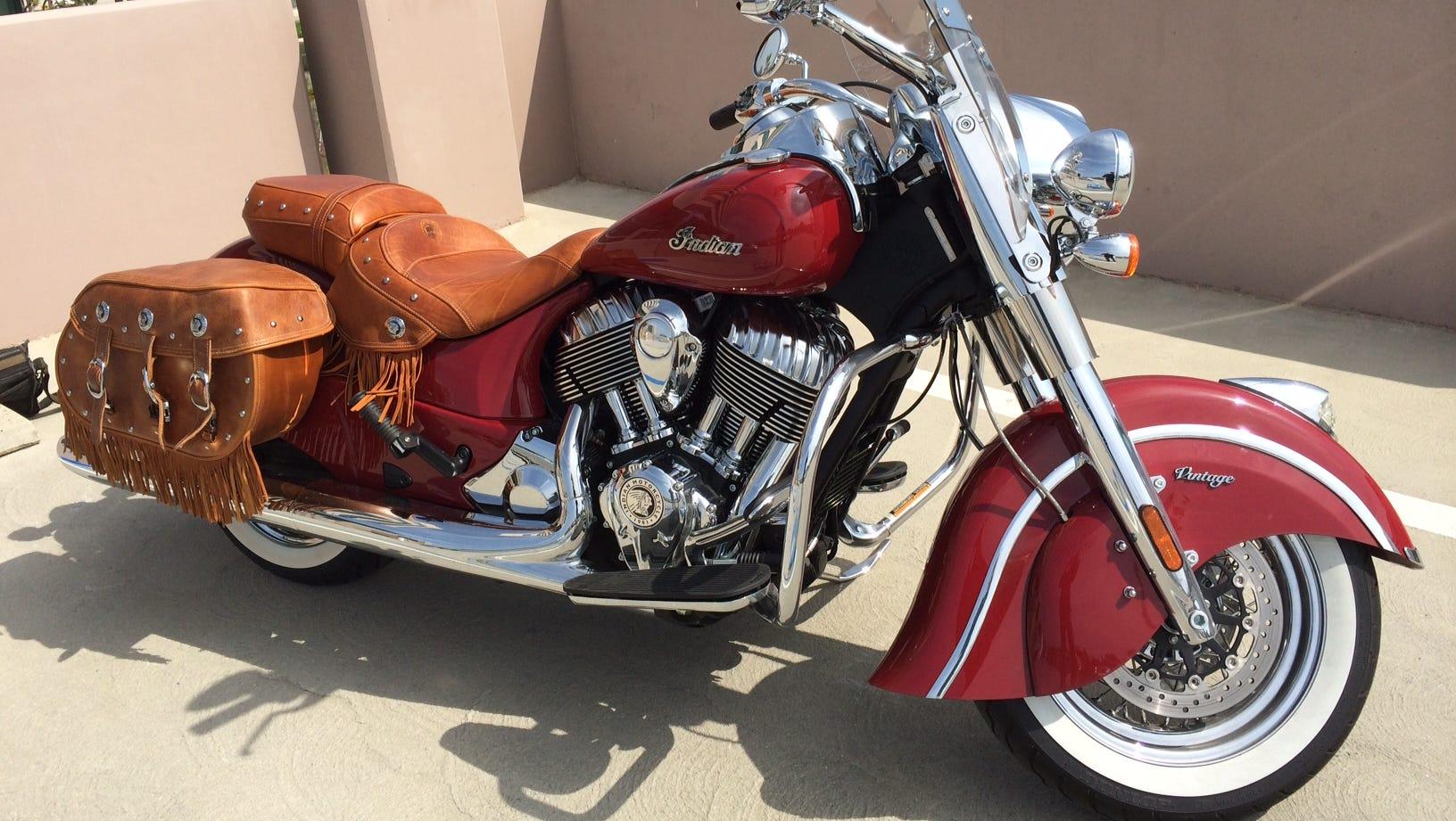 Indian Chief Chrome Muffler fits Harley-Davidson