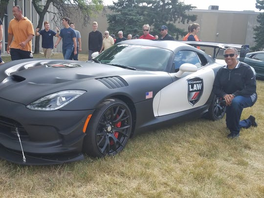 Detroit Police Chief Craig – a serious motorhead –