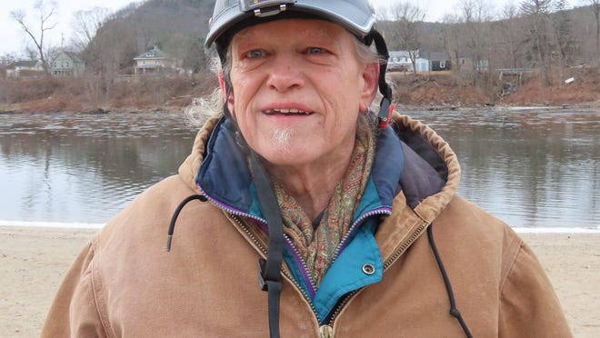 Ronald Streczyk, 64, made news in 1995 when he took a plunge in the frigid Delaware River and was arrested for swimming at West End Beach in Port Jervis when the beach was closed.