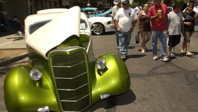 29th annual Visalia Downtown Car Show Event is on Saturday, May 20 in downtown Visalia.