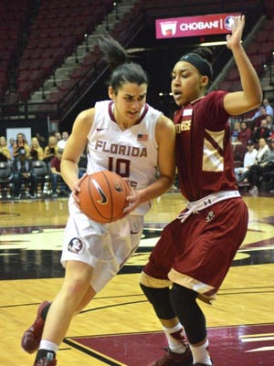 Leticia Romero led Florida State to its first ACC win of the season over Boston College.