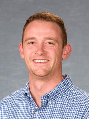 Brad Hagan, Union County Extension Agent for Agriculture and Natural Resources.  Kentucky Cooperative Extension Service, College of Agriculture, Food and Environment, University of Kentucky.  Personnel Headshots