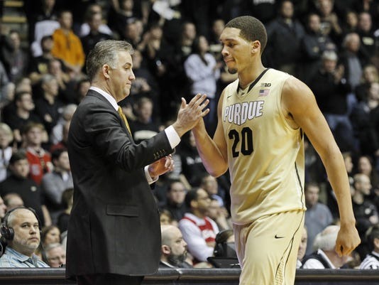 LAF Purdue men's basketball gamer Indiana Jan 28