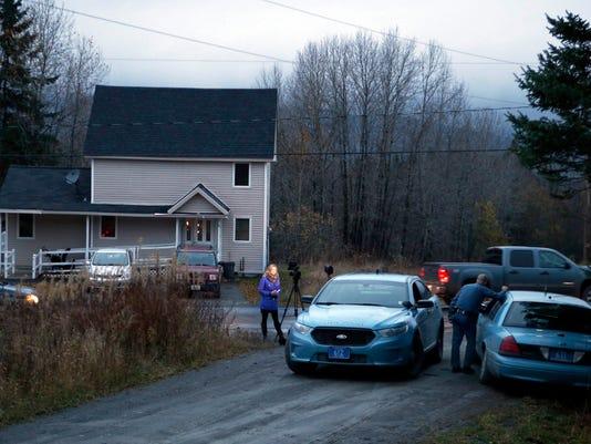 APTOPIX Ebola Nurse Quarantined Maine