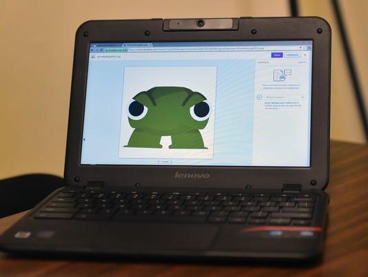 Edgarton student makes app