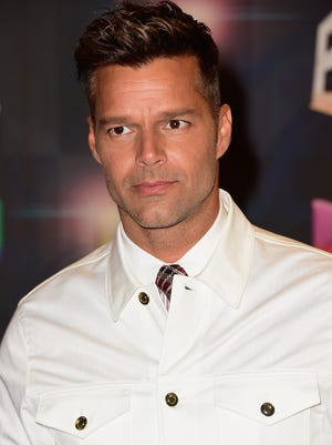 Ricky Martin attends Univision's Premios Juventud 2015 at Bank United Center on July 16, 2015 in Miami, Fla.