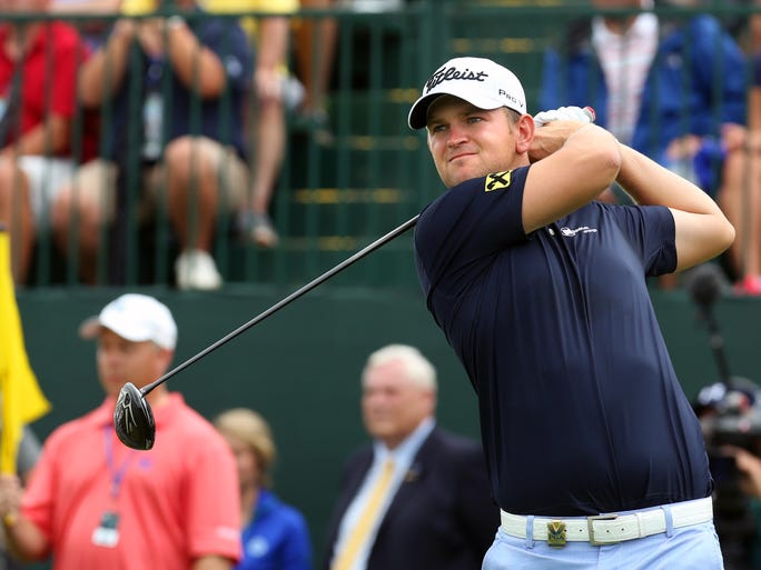 "Bernd Wiesberger started the day tied for seventh, three shots off the pace set by Rory McIlroy. ""At first I'm not sure how many knew my name, really,"" he said of his third-round pairing with crowd favorite Phil Mickelson."