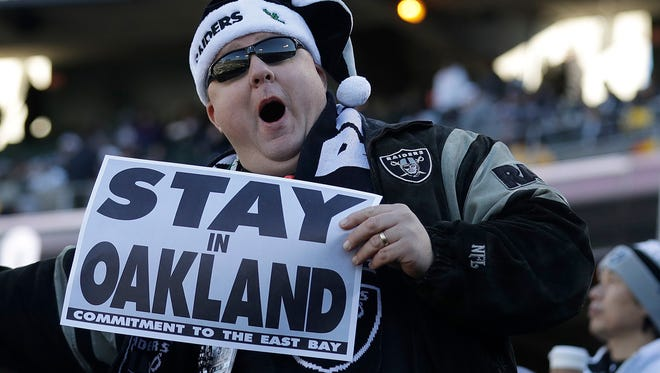 Raiders fans want the team to stay in Oakland, but a move to Las Vegas seems to be all but done.