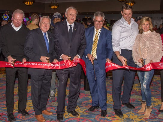 Ocean Downs Casino cuts the ribbon on Friday, Dec.