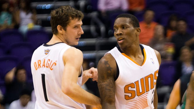 The Suns were 24-11 when Goran Dragic and Eric Bledsoe started together last season. Do they form the NBA's bet starting backcourt?
