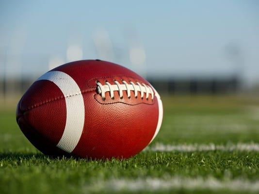 Collegiate Football on the Field