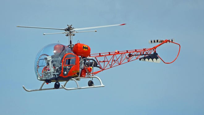 "The original ""Batcopter"" will fly at the Stuart Air Show this weekend."