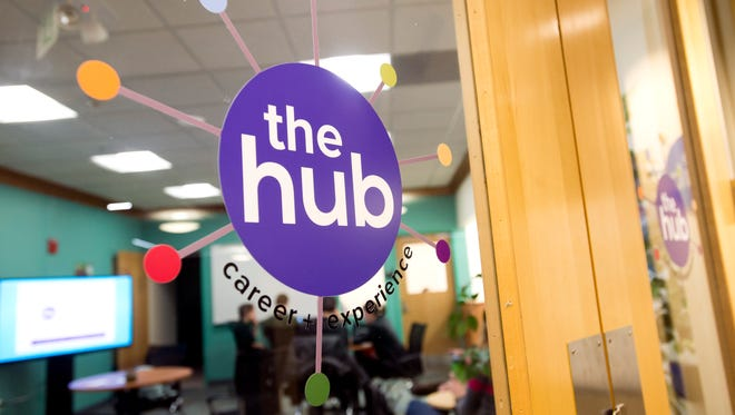 The Hub Career + Experience Center at the University of Vermont's Davis Center