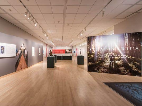 Stradivarius exhibit at MIM