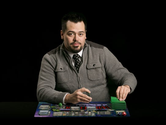 Chris Phillips has been playing magic for about five
