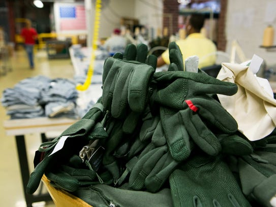 Mosley Glove in Wilmington hires residents in the area.