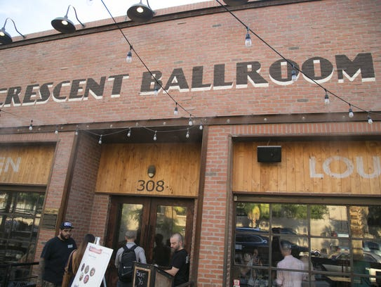 The Crescent Ballroom has become one of the most popular