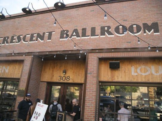 Crescent Ballroom exterior