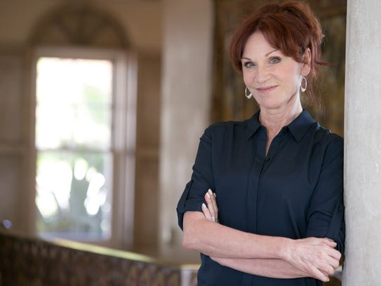 Actress Marilu Henner at home in Hollywood.
