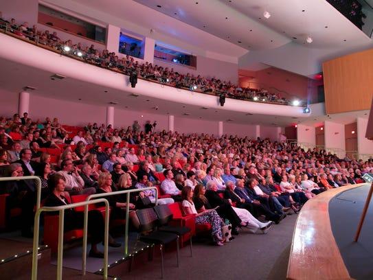 Burt Center Stage At The Eissey Theatre