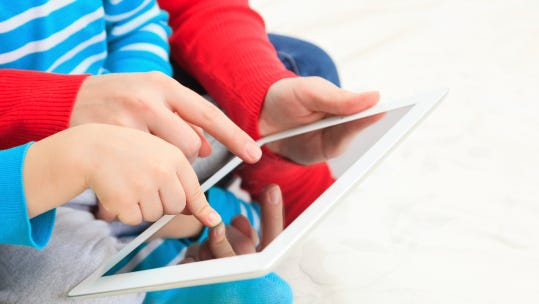 Tablets are a fact of modern life for families.