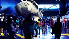 The Kennedy Space Center Visitor Complex opened the