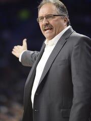 Pistons president-head coach Stan Van Gundy.