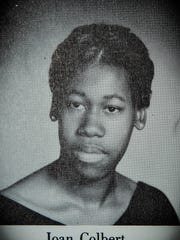 1970 Long Branch High School photo of Joan Colbert.