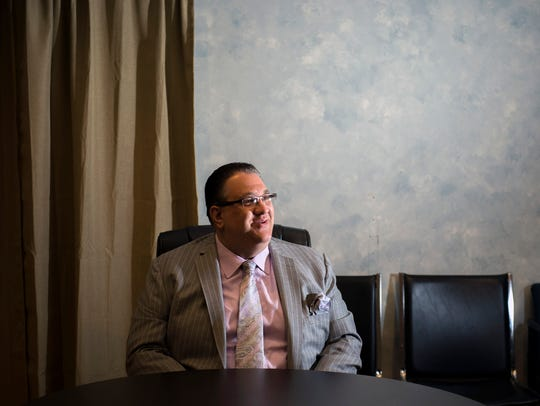City council president Anthony Fannucci sits down for