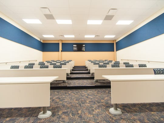 A new classrom in the new Cumberland County Technical