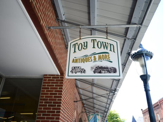 Toy Town in Berlin offers many varieties of vintage