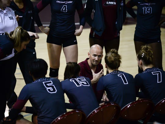 UMES head volleyball coach Toby Rens has resigned to accept the same position at Georgetown University.