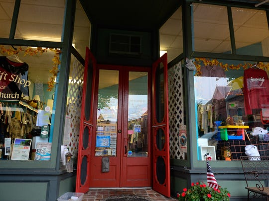 The Church Mouse Thrift store located in Berlin, applied for grant money to purchase custom made screen doors.  Wednesday, Sept. 21, 2016.
