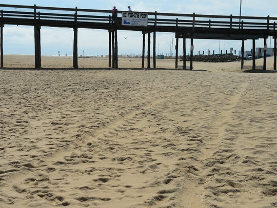 Ocean City uses beach replenishment which is a process