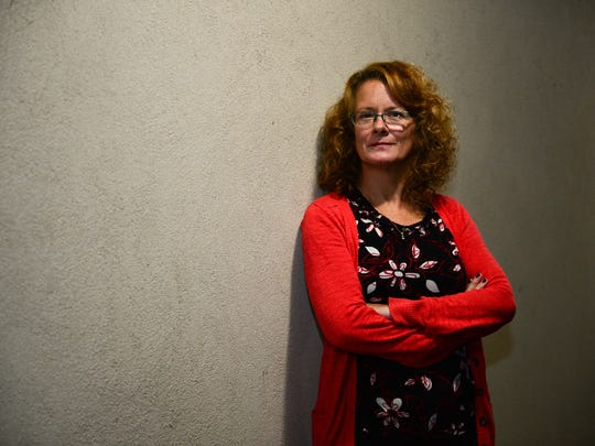 Heidi McNeely poses for a photo Wednesday, Oct. 6,